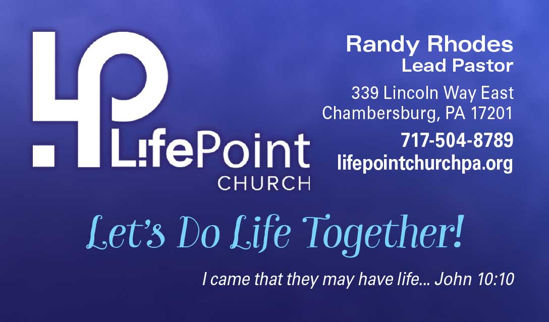 """<center>LifePoint Church   <b><a href=""""https://lifepointchurchpa.org"""" target=""""_blank"""" rel=""""noopener noreferrer"""">CLICK HERE to view the website</a></b></center>"""