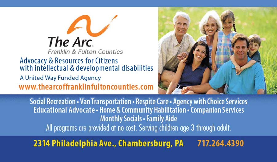 """<center>The Arc Franklin & Fulton Counties 