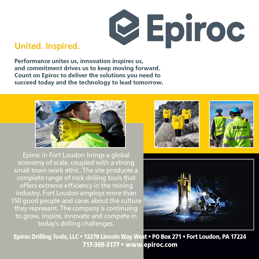 """<center> Epiroc 