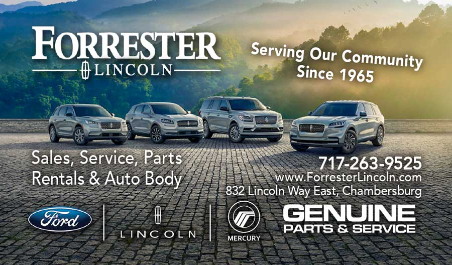 """<center>Forrester Lincoln 