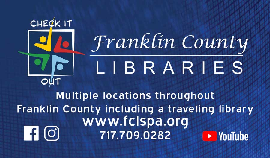 """<center>Franklin County Libraries 