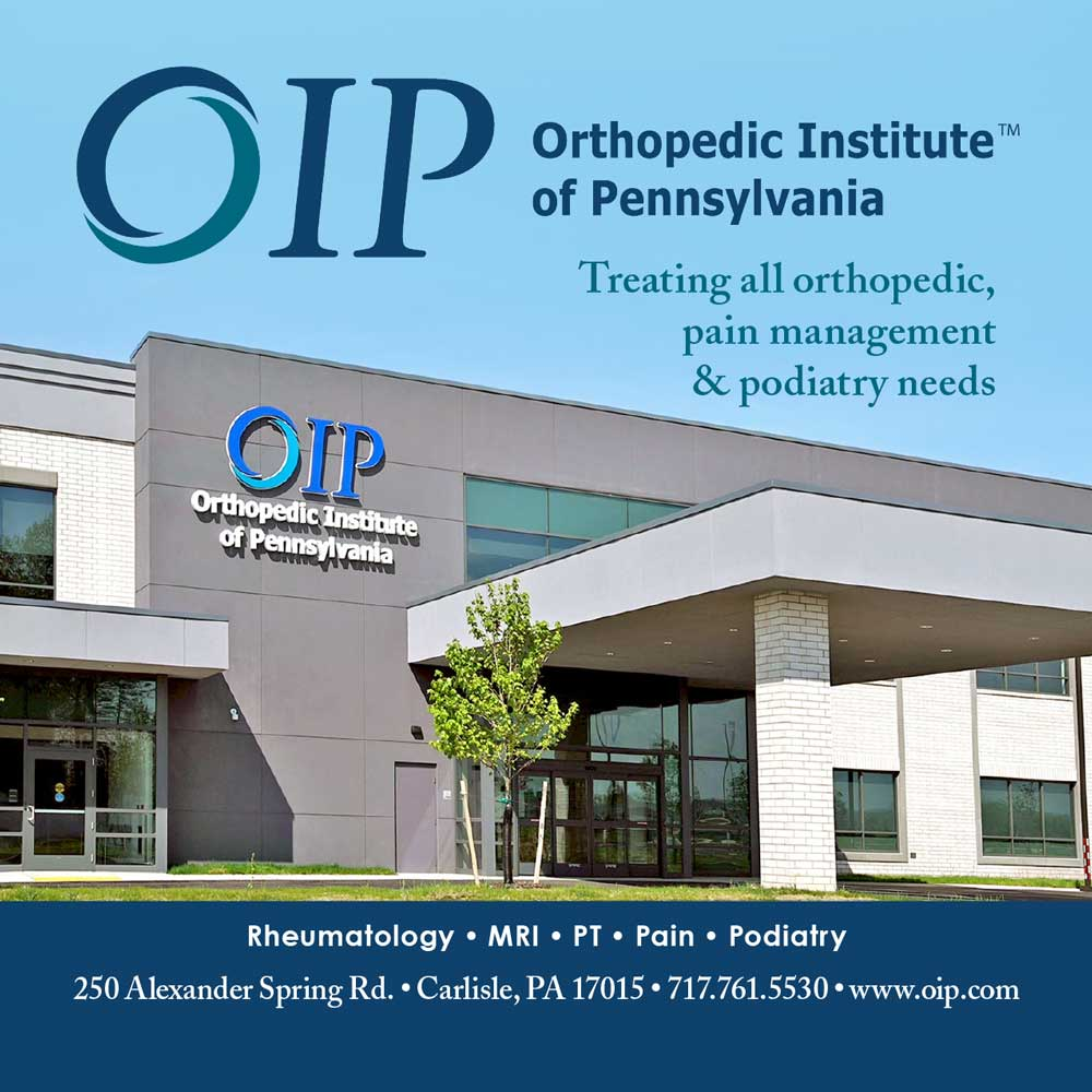 """<center>Orthopedic Institute of Pennsylvania 