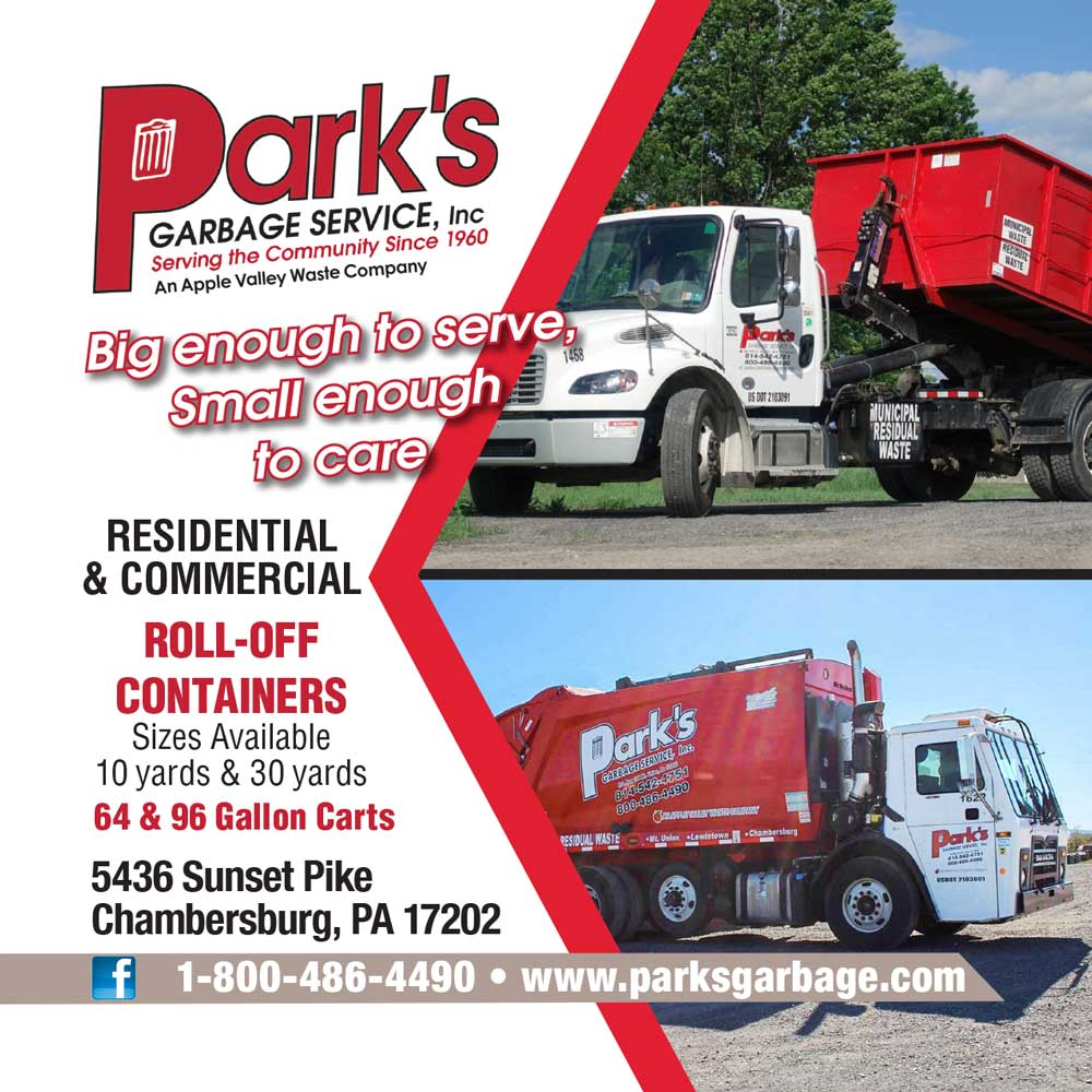 """<center>Park's Garbage Service, Inc.   <b><a href=""""https://www.parksgarbage.com"""" target=""""_blank"""" rel=""""noopener noreferrer"""">CLICK HERE to view the website</a></b></center>"""