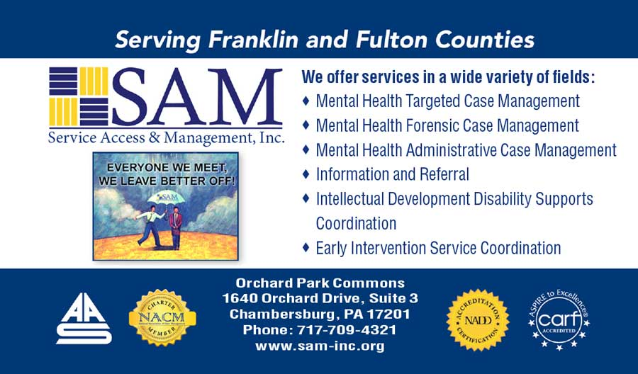 """<center>SAM - Service Access & Management, Inc. 