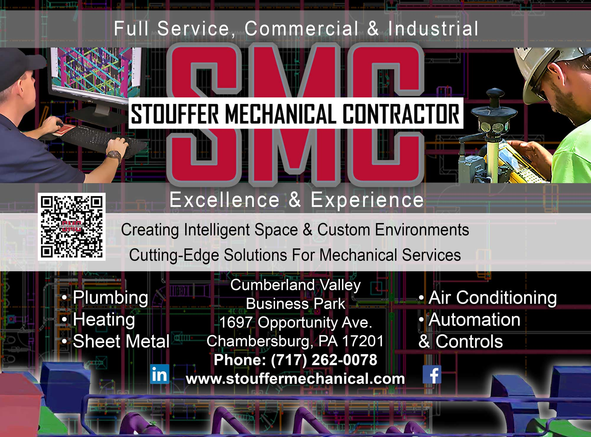 """<center>Stouffer Mechanical Contractor 