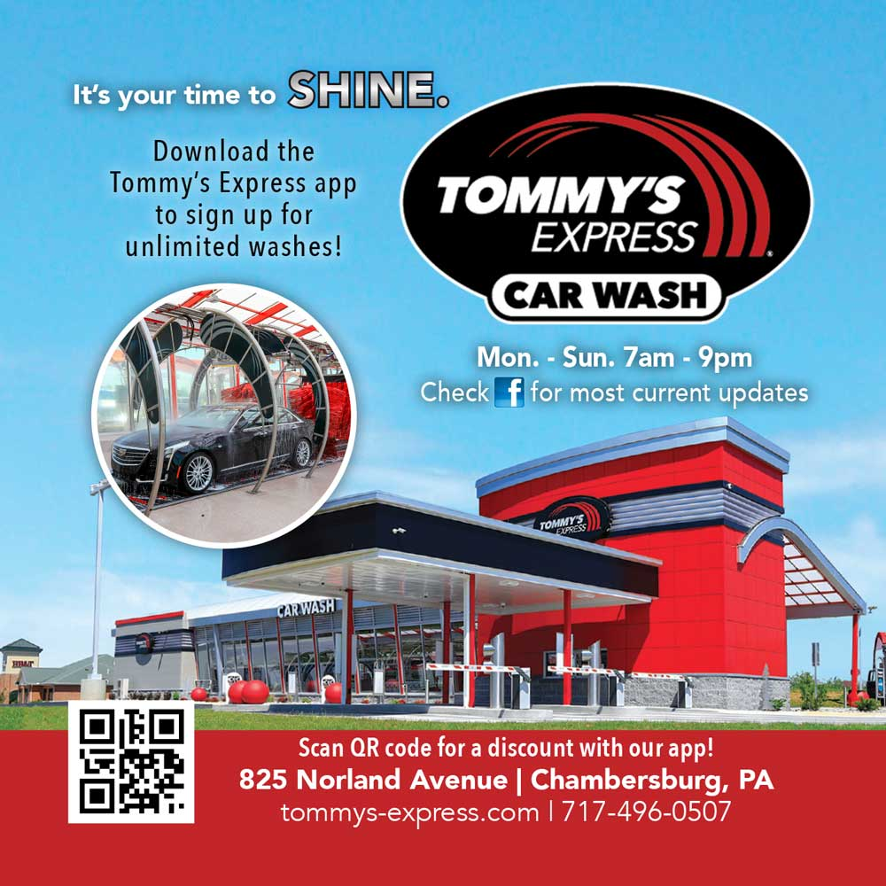 """<center>Tommy's Express Car Wash 