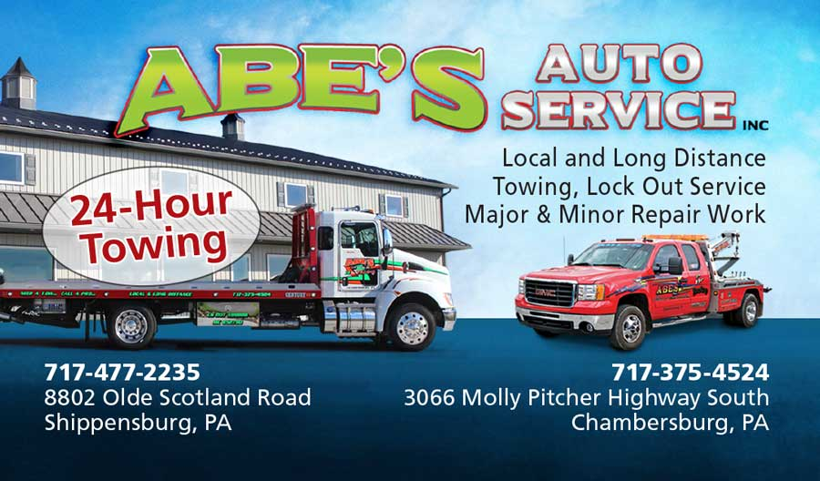 """<center>Abe's Auto Service Inc   <b><a href=""""https://abestowing.com"""" target=""""_blank"""" rel=""""noopener noreferrer"""">CLICK HERE to view the website</a></b></center>"""