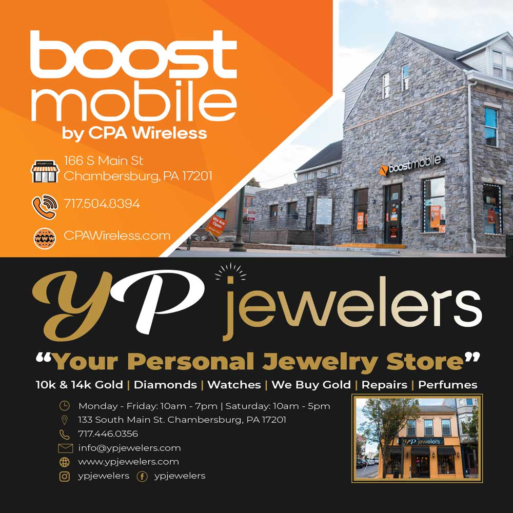 """<center>Chambersburg PA Wireless   <b><a href=""""https://www.cpawireless.com"""" target=""""_blank"""" rel=""""noopener noreferrer"""">CLICK HERE to view the website</a></b> • YP Jewelers   <b><a href=""""https://ypjewelers.com/password"""" target=""""_blank"""" rel=""""noopener noreferrer"""">CLICK HERE to view the website</a></b></center>"""