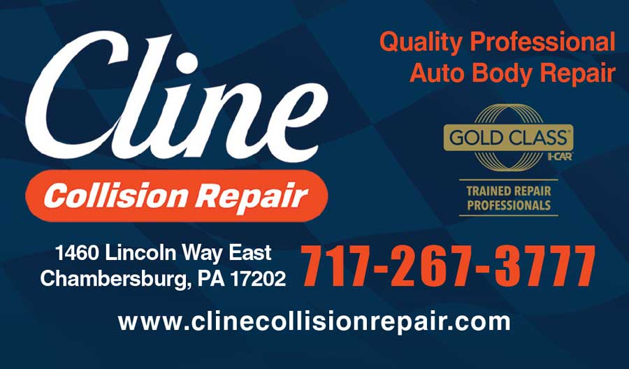 """<center>Cline Collision Repair   <b><a href=""""http://clinecollisionrepair.com"""" target=""""_blank"""" rel=""""noopener noreferrer"""">CLICK HERE to view the website</a></b></center>"""