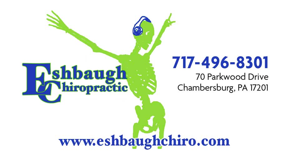 """<center>Eshbaugh Chiropractic 