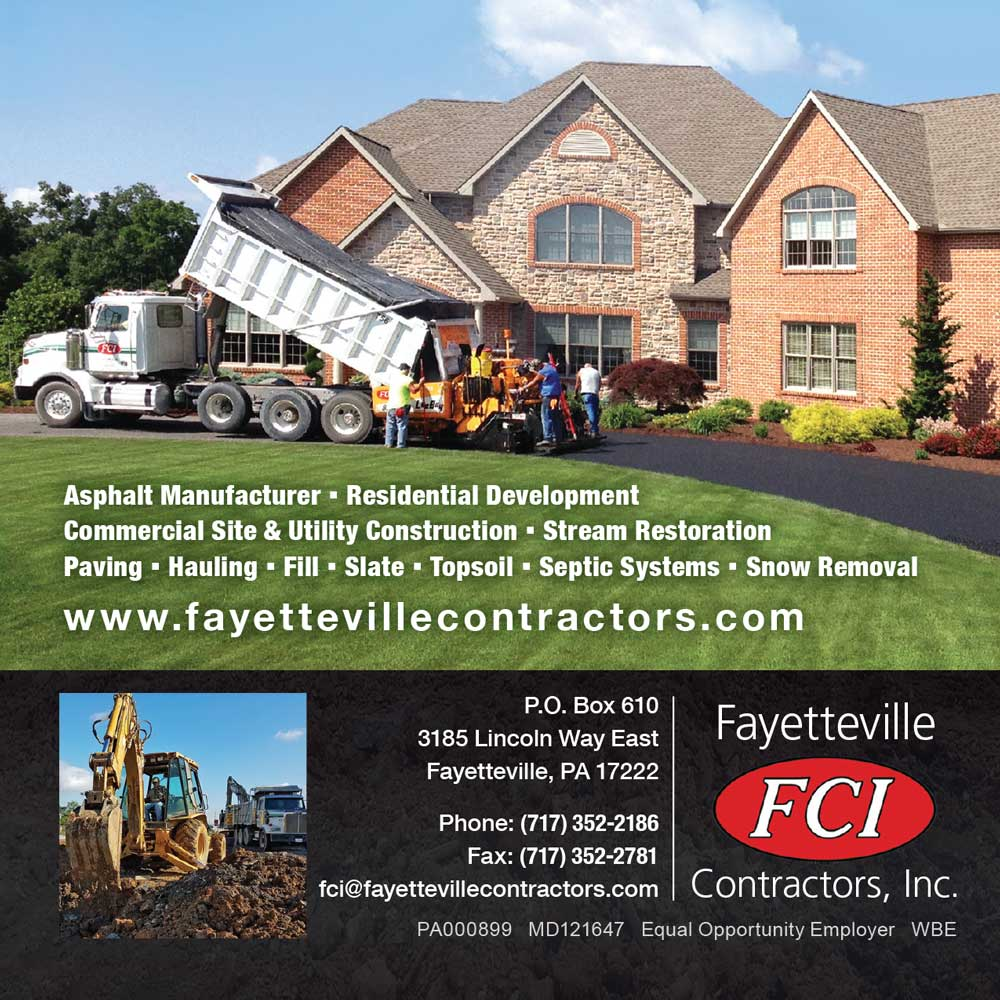 """<center>Fayetteville Contractors, Inc. 