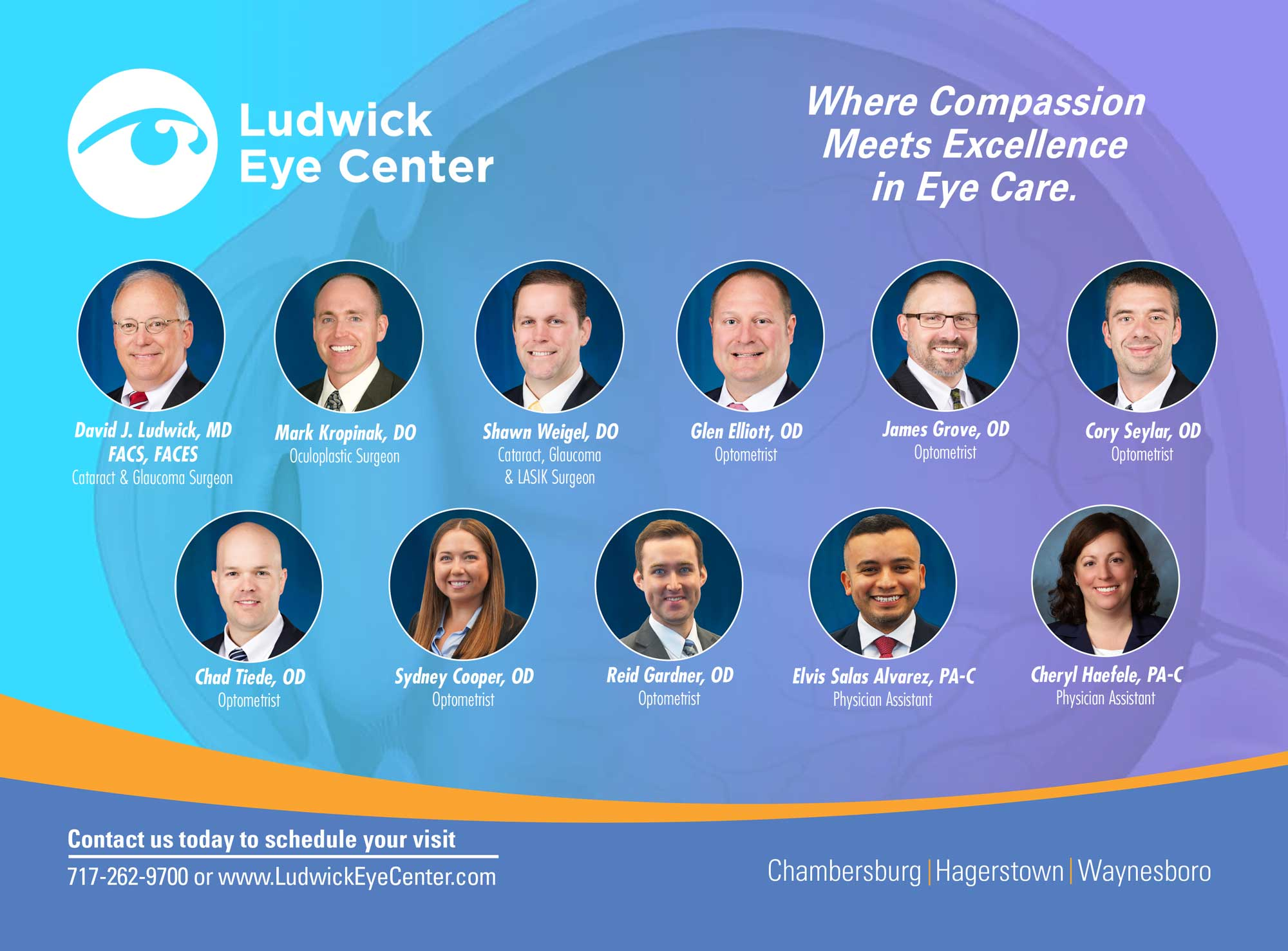 """<center>Ludwick Eye Center 