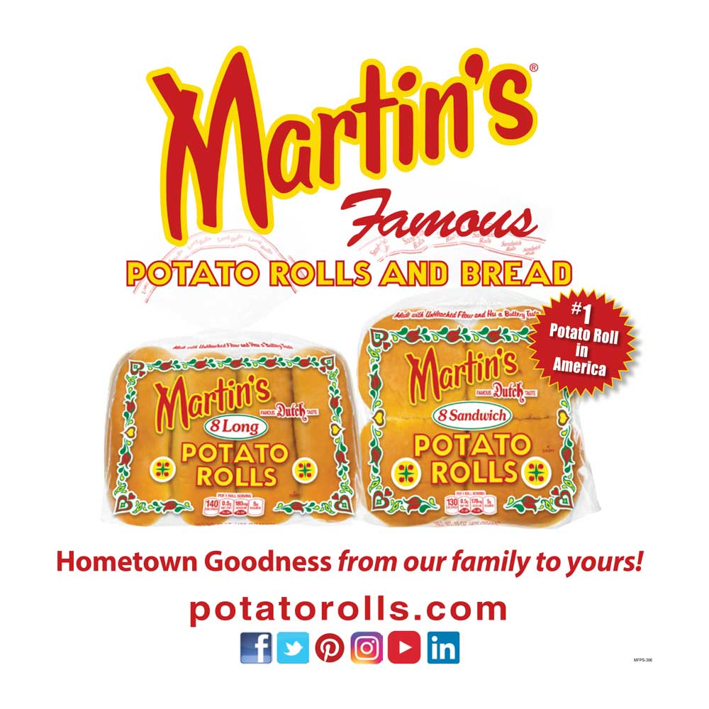 """<center>Martin's Famous Potato Rolls and Bread 