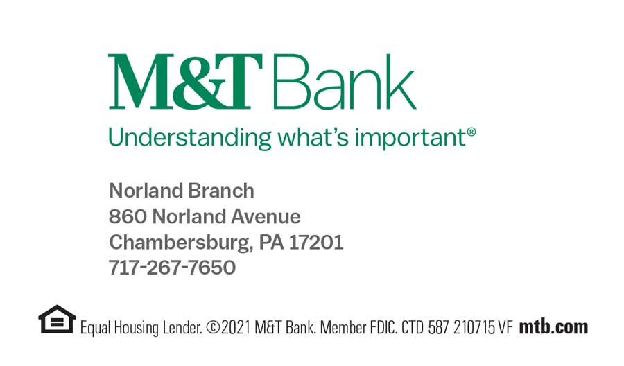 """<center>M&T Bank   <b><a href=""""https://www3.mtb.com"""" target=""""_blank"""" rel=""""noopener noreferrer"""">CLICK HERE to view the website</a></b></center>"""