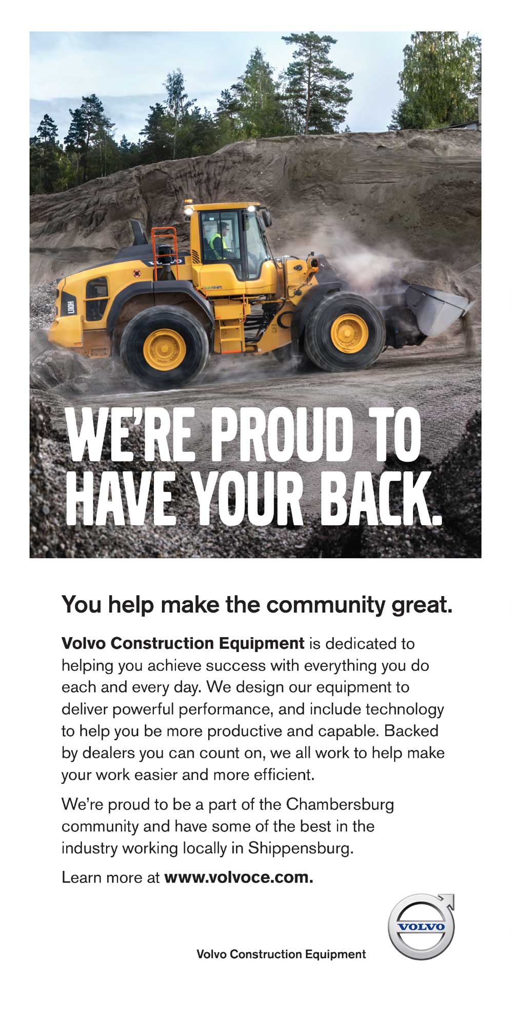 """<center>Volvo Construction Equipment 