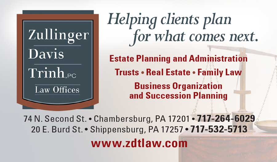 """<center>Zullinger, Davis, Trinh, PC Law Offices 